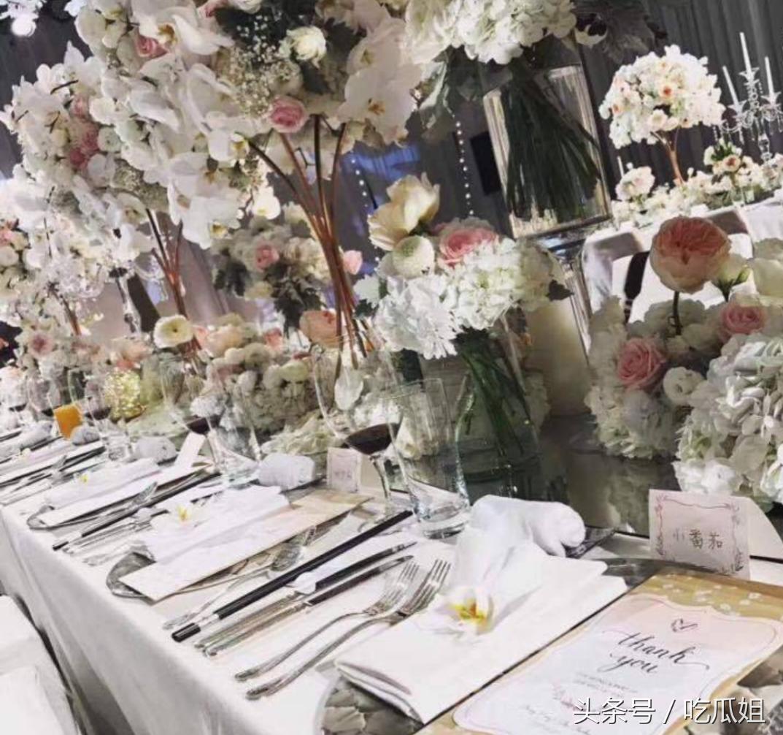 王思聪虽然很有钱,与娱乐圈里的杨幂、黄晓明、林更新等一线明星关系很好,但他给不起雪梨这样一个婚礼!