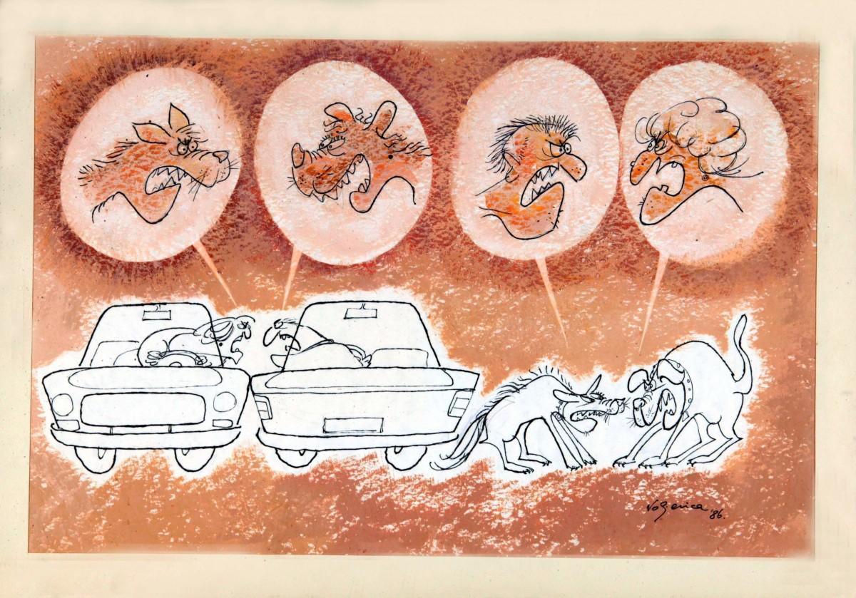 天天漫画网:国外幽默漫画《人类没有进化完善的那一面》