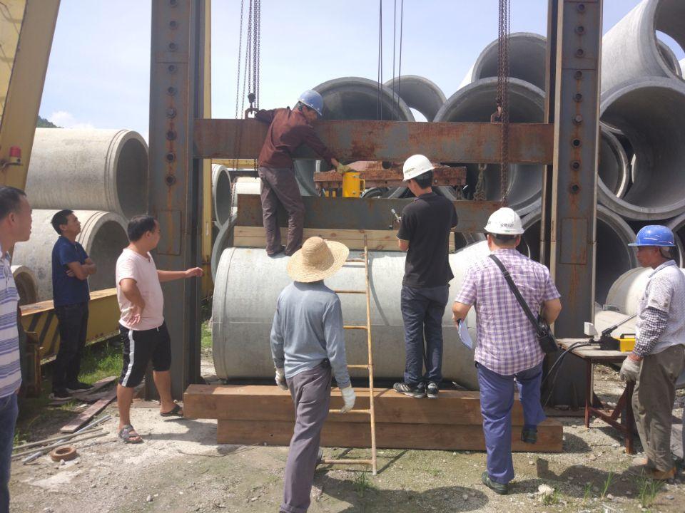 II级钢筋混凝土排水管外压荷载试验方法