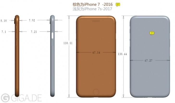 iPhone 7S增厚了 但监控摄像头没那麼突起了