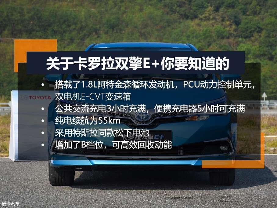 一汽丰田卡罗拉双擎E+到底强在哪?
