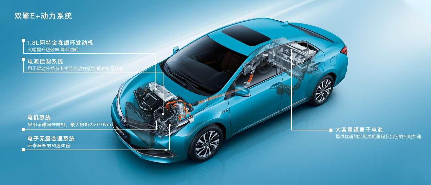 一汽丰田卡罗拉双擎E+,真正让你摆脱充电和油耗压力
