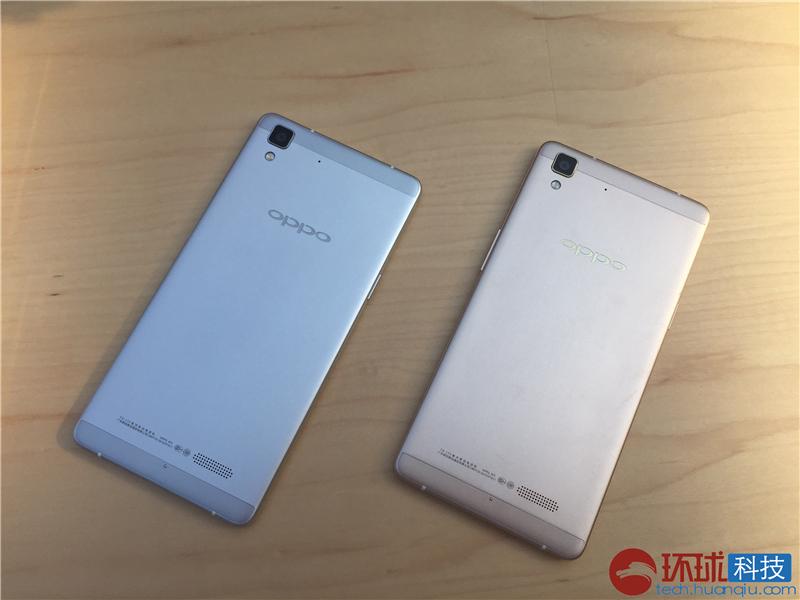OPPO R7/R7 Plus公布 道别卡屏照相升級