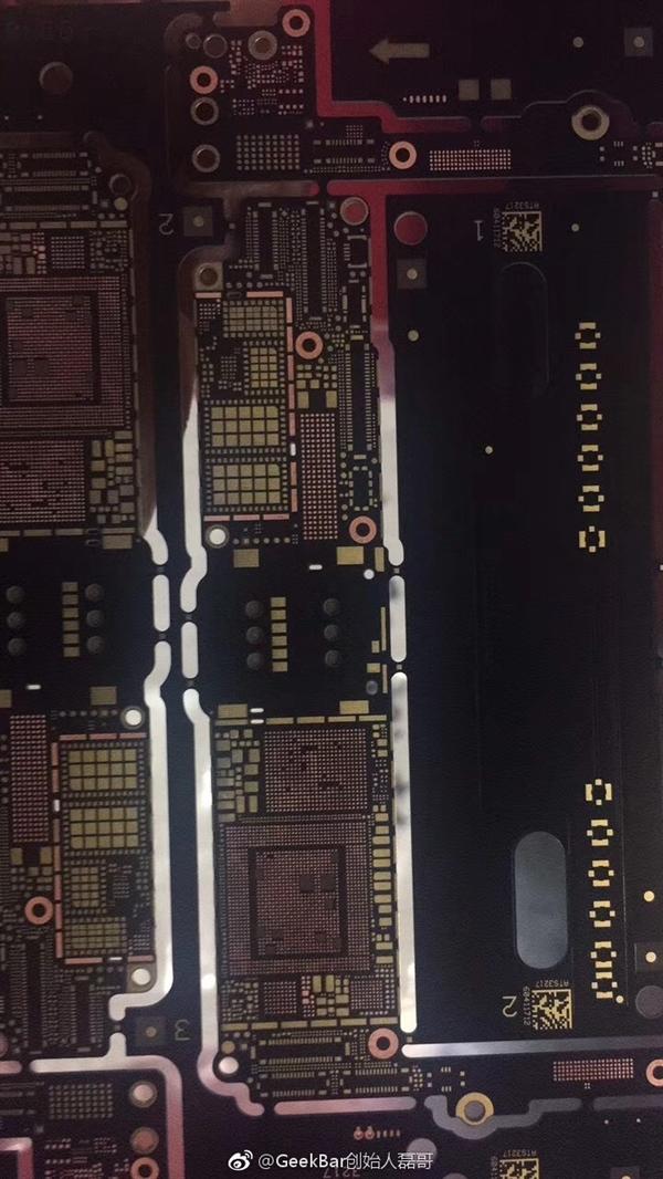 iPhone 7s批量生产电脑主板首曝!仍然L型设计方案