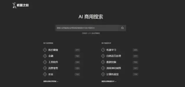 受够了碎片信息和大众搜索?机器之心新上线的「AI商用垂直搜索」