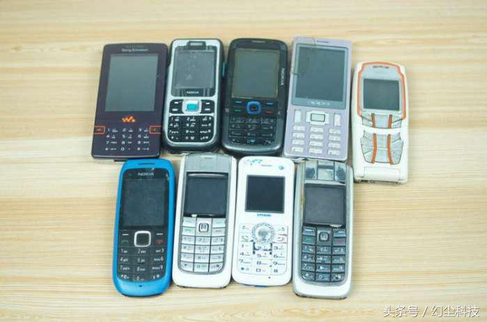 手机上取代速率飞快,许多 经典商品一转眼就变成电子废品