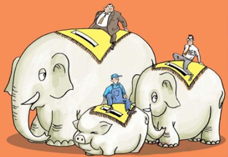 天天漫画网:漫画家张滨《水墨漫画是时代特色的绘画种类》
