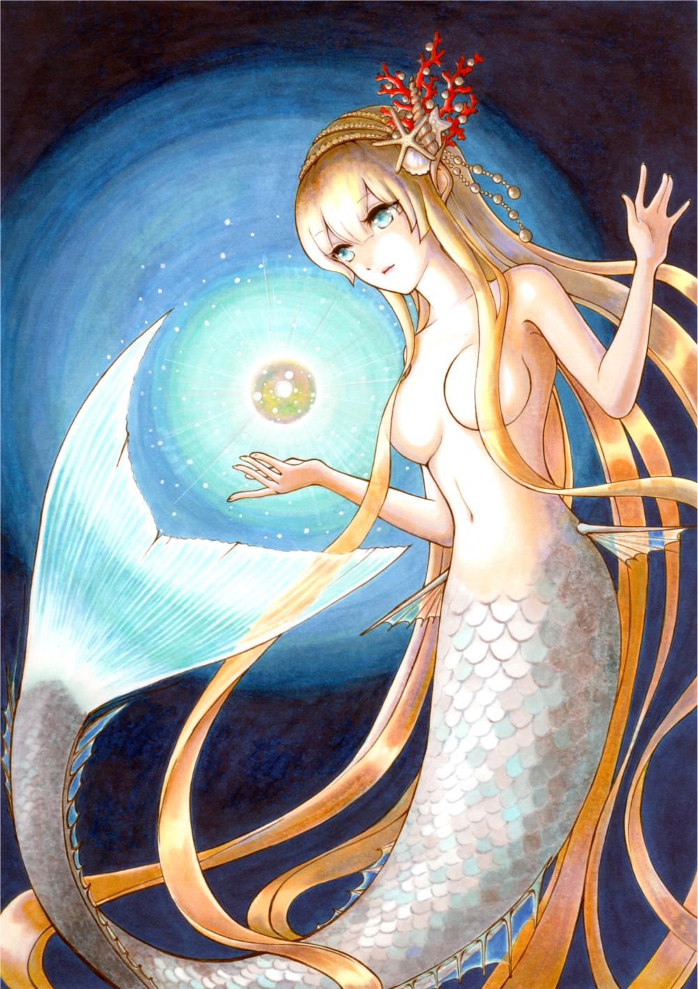 美人鱼真的存在吗照片 海洋真实的美人鱼图片