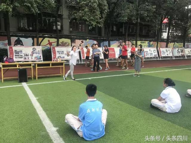 """除了李易峰,列五中学将再添新名片:用""""川剧体操""""传承天府文化"""