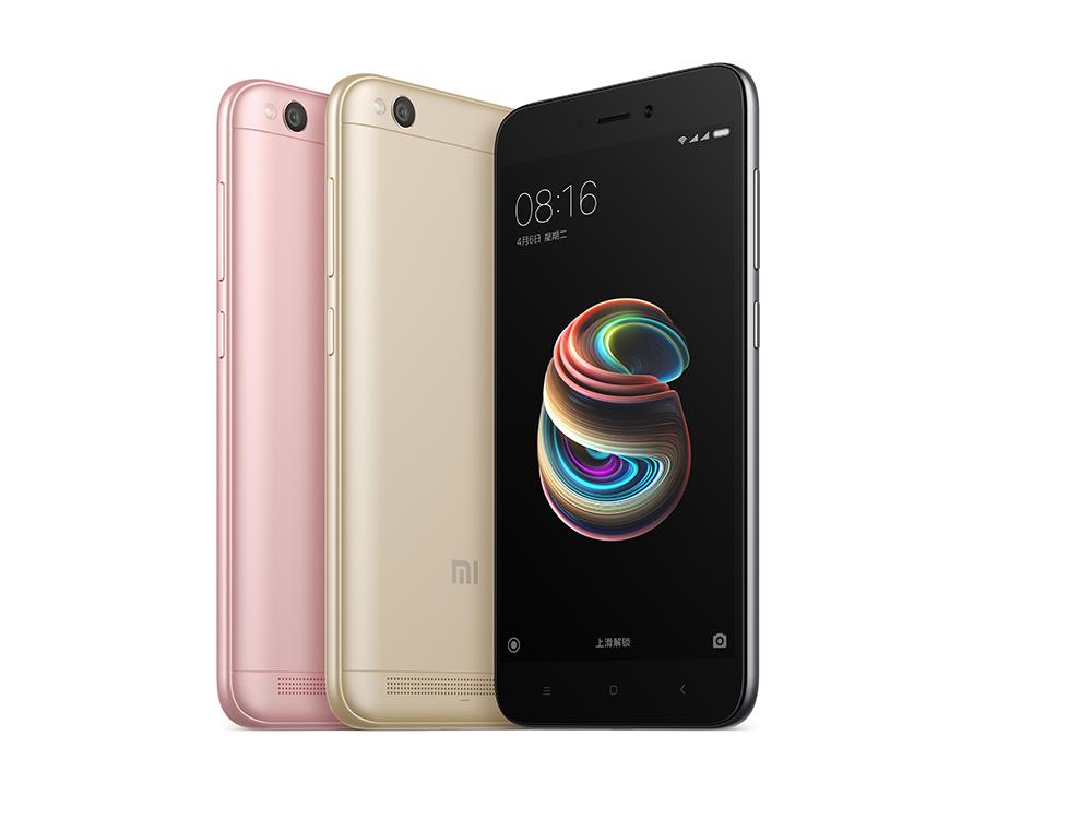 挪动小米手机强强联合 上千万4g 手机上红米5A宣布公布