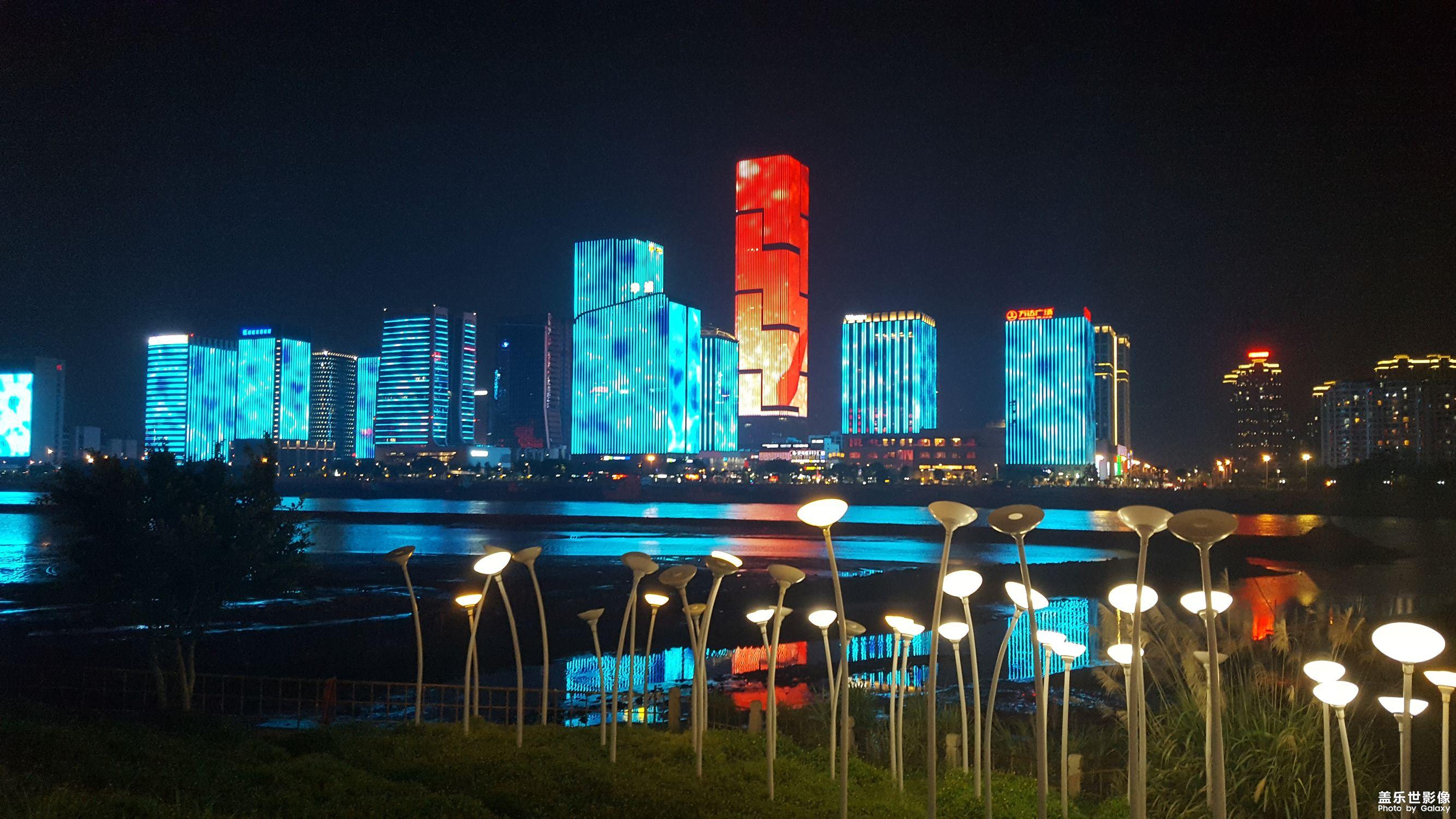福州夜景——Photo by Samsung Galaxy S6