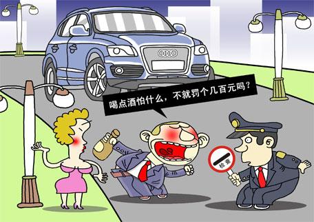 天天漫画网:漫画家徐建军《汽车安全驾驶 》