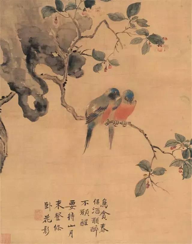 """清代的""""三绝""""画家,他画的鸟堪称一绝"""