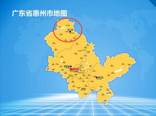 """广东省一个县,以""""龙""""命名,名字起得""""非常霸气""""!"""