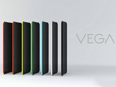 VEGA概念手机:全视曲屏沒有,可是大家有斜面
