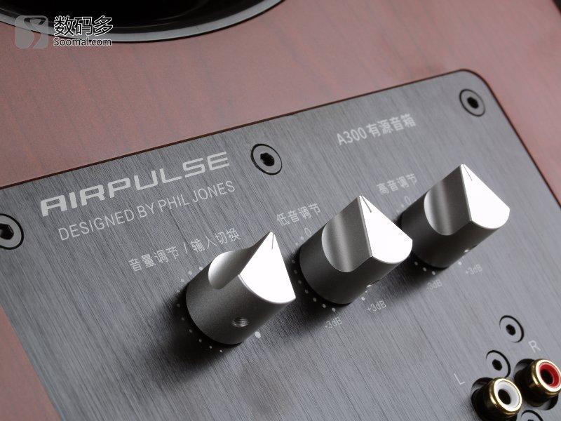 AIRPULSE A300 有源音箱測評報告  [Soomal]