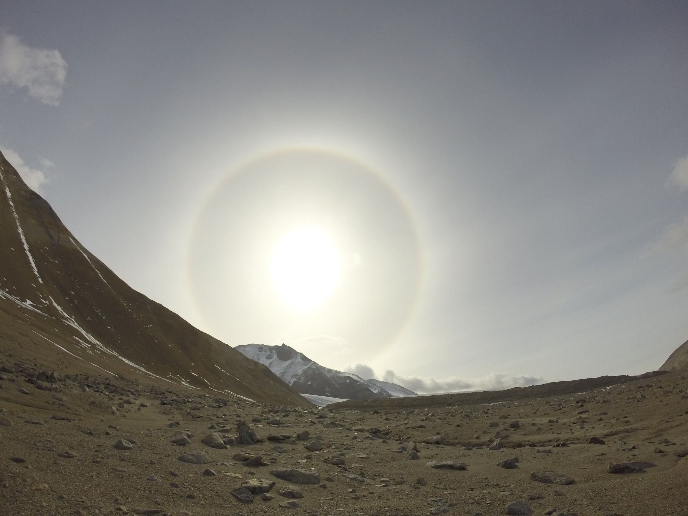 在南极干旱的山谷,气候变化引起土壤变化的早期迹象