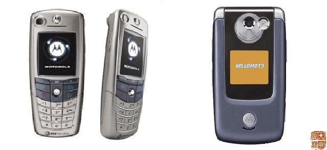 摩托罗拉各时期以A标示的手机