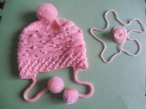 婴儿帽子的织法教程
