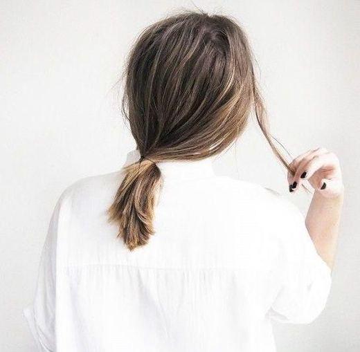 短发界的喜爱热 最近流行的短发小马尾