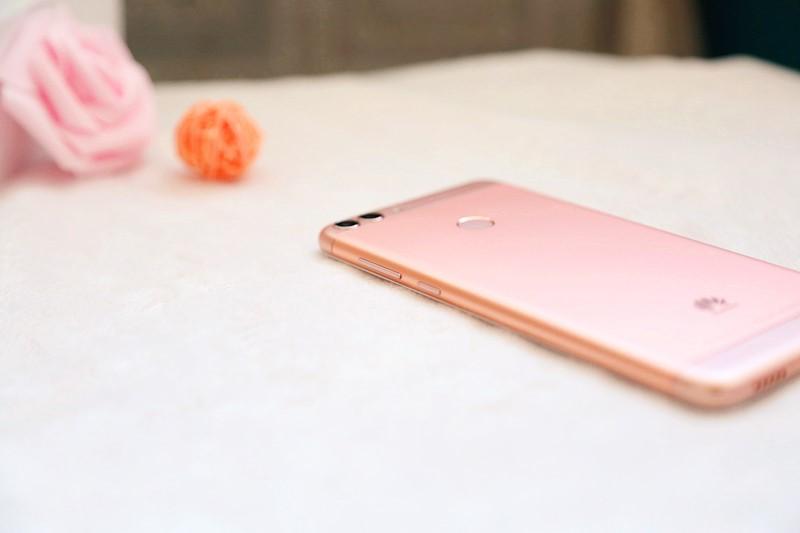 传说中的粉红色华为畅享7S,你觉得怎样