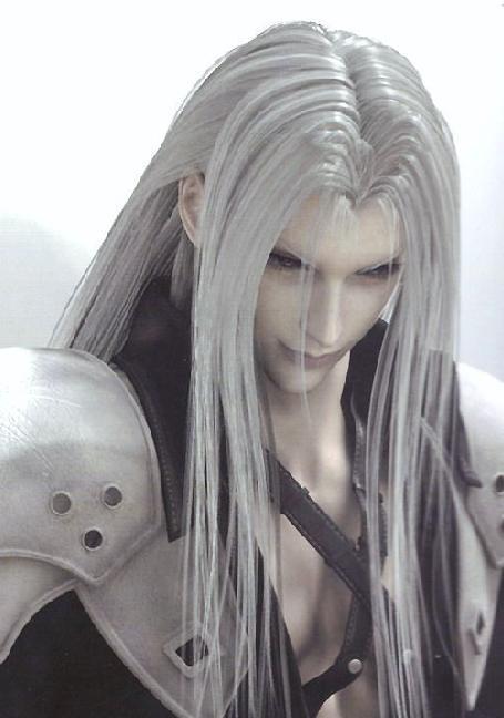 动漫中的银白长发帅哥,是否有你的心头爱?