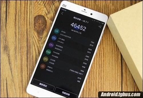 您令人满意吗?小米手机Note三网通版显卡跑分如何?