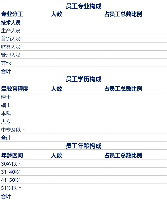 一套完整的企业介绍模板(Excel版)