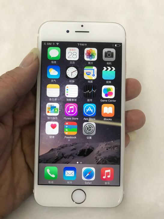 八百块下手稀有系统软件的iPhone 6,这一流畅度扛扛的!