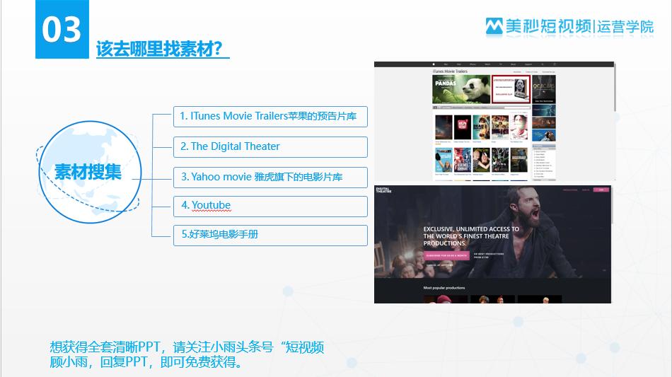 混剪视频素材从哪儿找?5大免费素材网站,绝对高清酷炫!