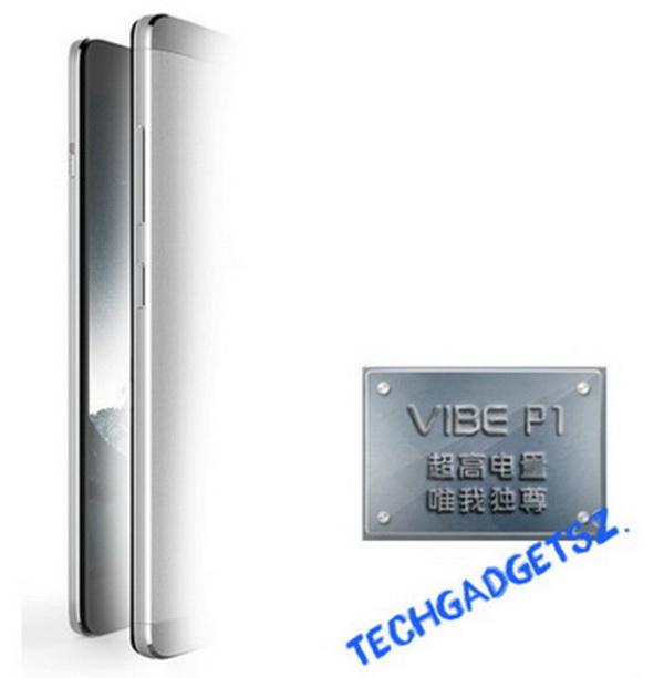 金属材料纤薄外壳 想到新手机VIBE P1宣图曝出