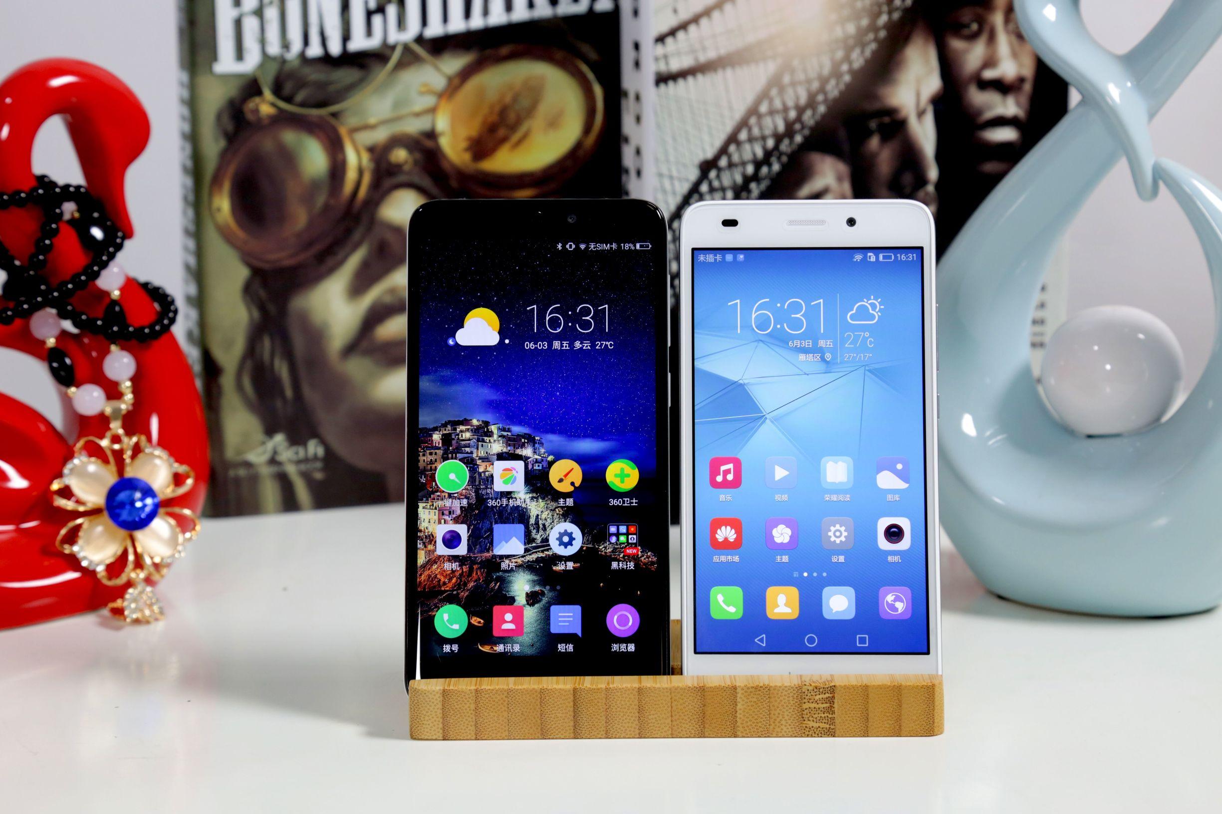 899元巅峰对决!360手机N4与荣耀畅玩5C对比评测