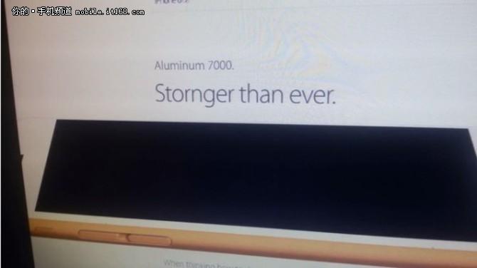 5588元起 iPhone 6s出现意外现身官方网站