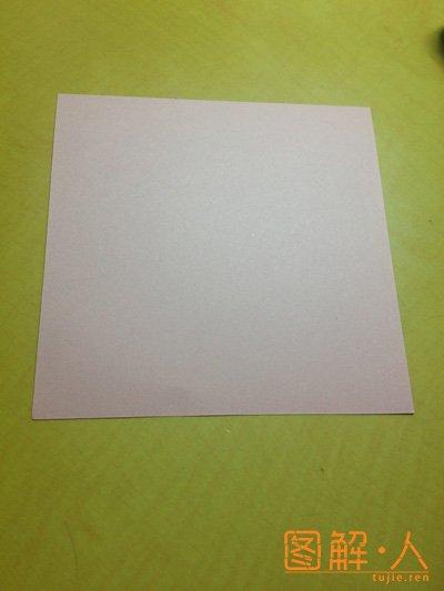 手工百合花折纸步骤视频教程