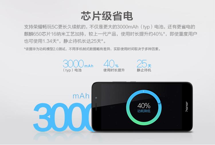 主要表现超贴心 华为荣耀畅玩4C轻微运用耗电量评测