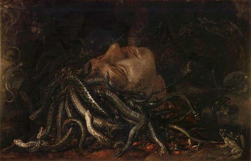绘画与斩首 | 美杜莎:蛇发女妖的悲剧由美而生