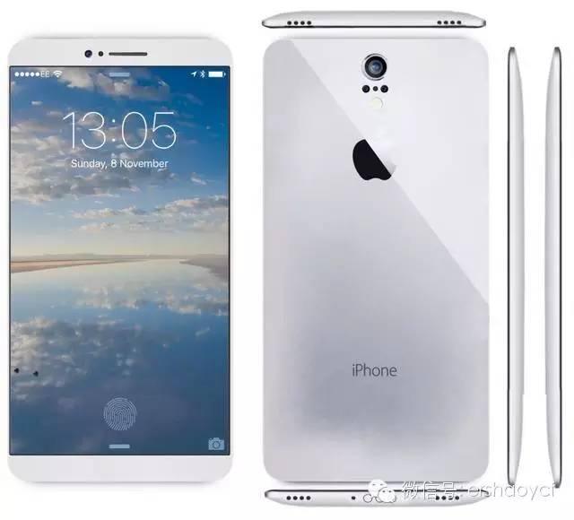 最美丽定义iPhone7曝出:无线快速充电技术 弧型外壳 多摄像头控制模块
