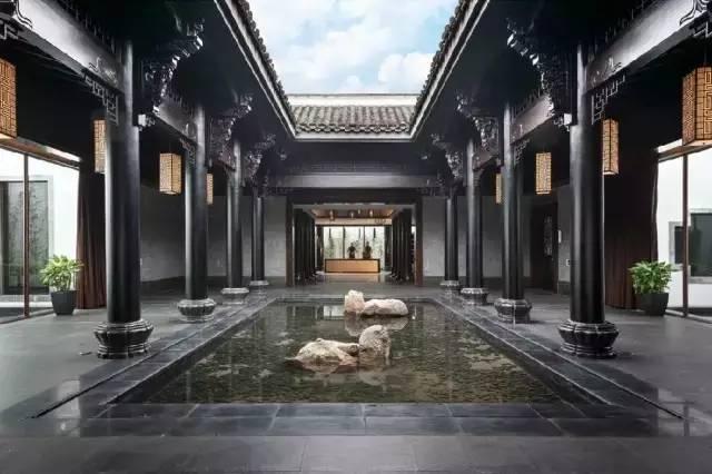 中式︱新中式室内建筑 · 木结构