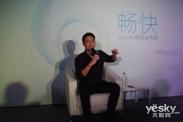 黄韬:vivo不选用双知名品牌 Xplay新产品将要公布