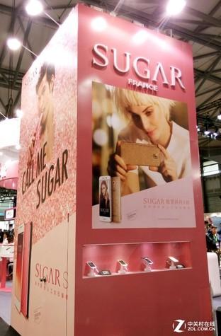 SUGAR糖塊時尚手機法式風格風風靡MWCS2016