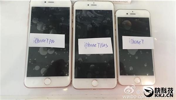 灰黑色亮相!iPhone 7/7 Plus/7 Pro大量内情