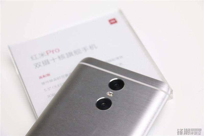 小米手机第一款不锈钢拉丝旗舰级商品:双摄像头红米notePro真机图赏