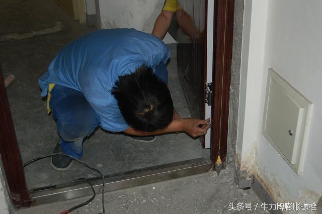 家庭裝修時膨脹螺栓的用途與安裝