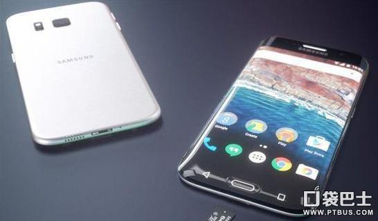 三星S7 edge最新款设计概念 三曲面屏手机