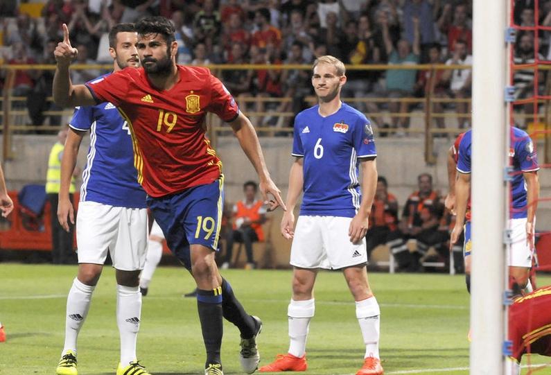 2018世界杯西班牙预选赛比分(2018世界杯葡萄牙对西班牙
