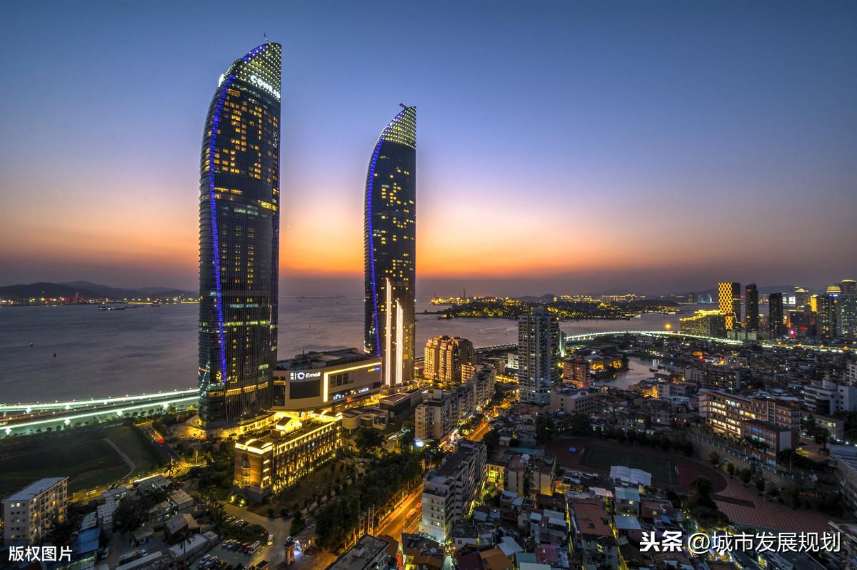中国城市行政区划——福建省厦门市