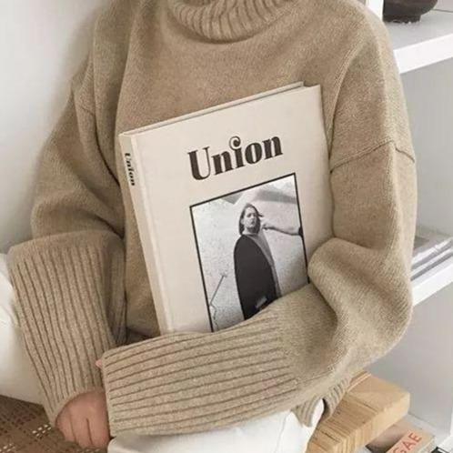 擁有一件純色毛衣,就能讓你時髦一整個冬