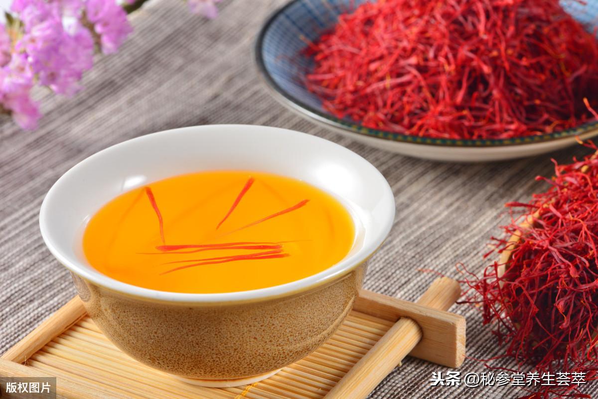 藏红花用多少度的水泡,藏红花泡水喝的功效与作用