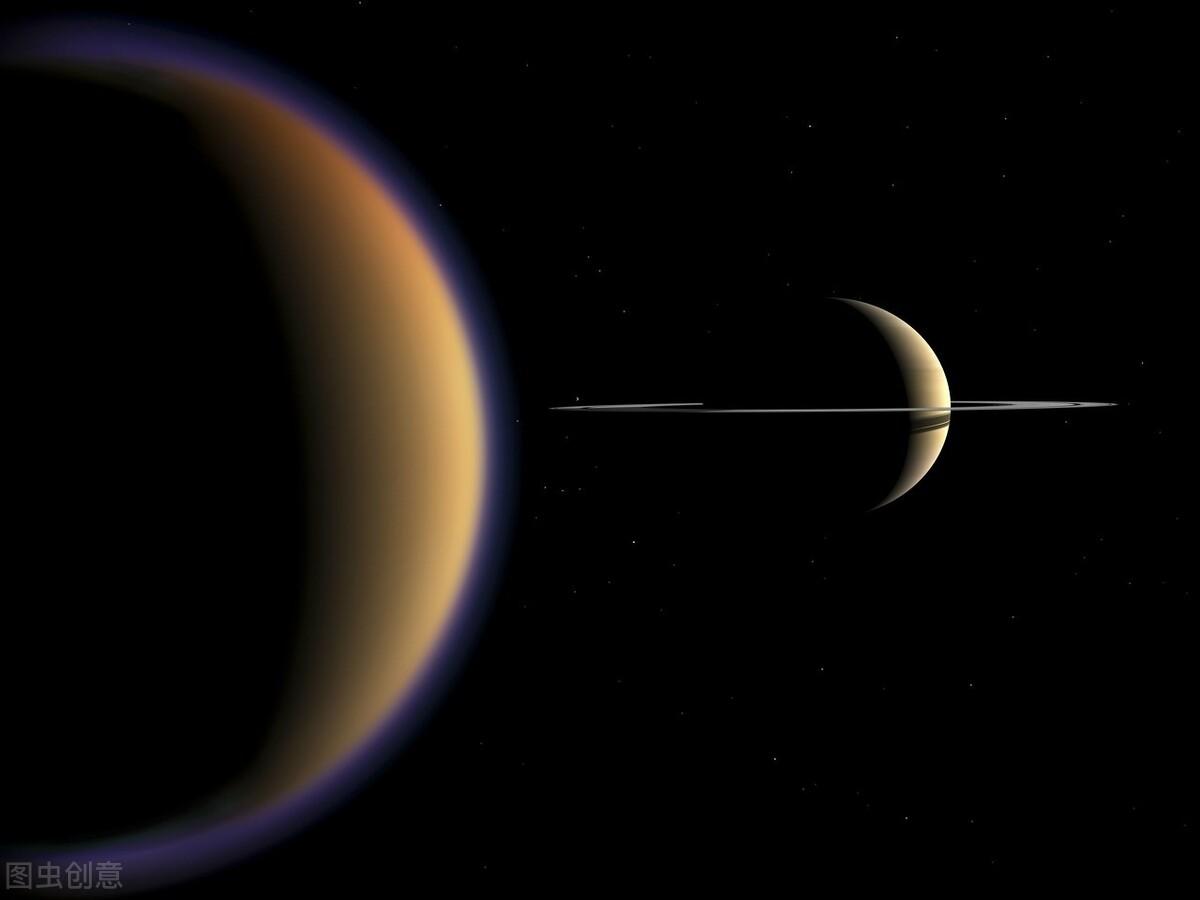 土星的卫星土卫六大气中含有一种奇怪的有机化学物质