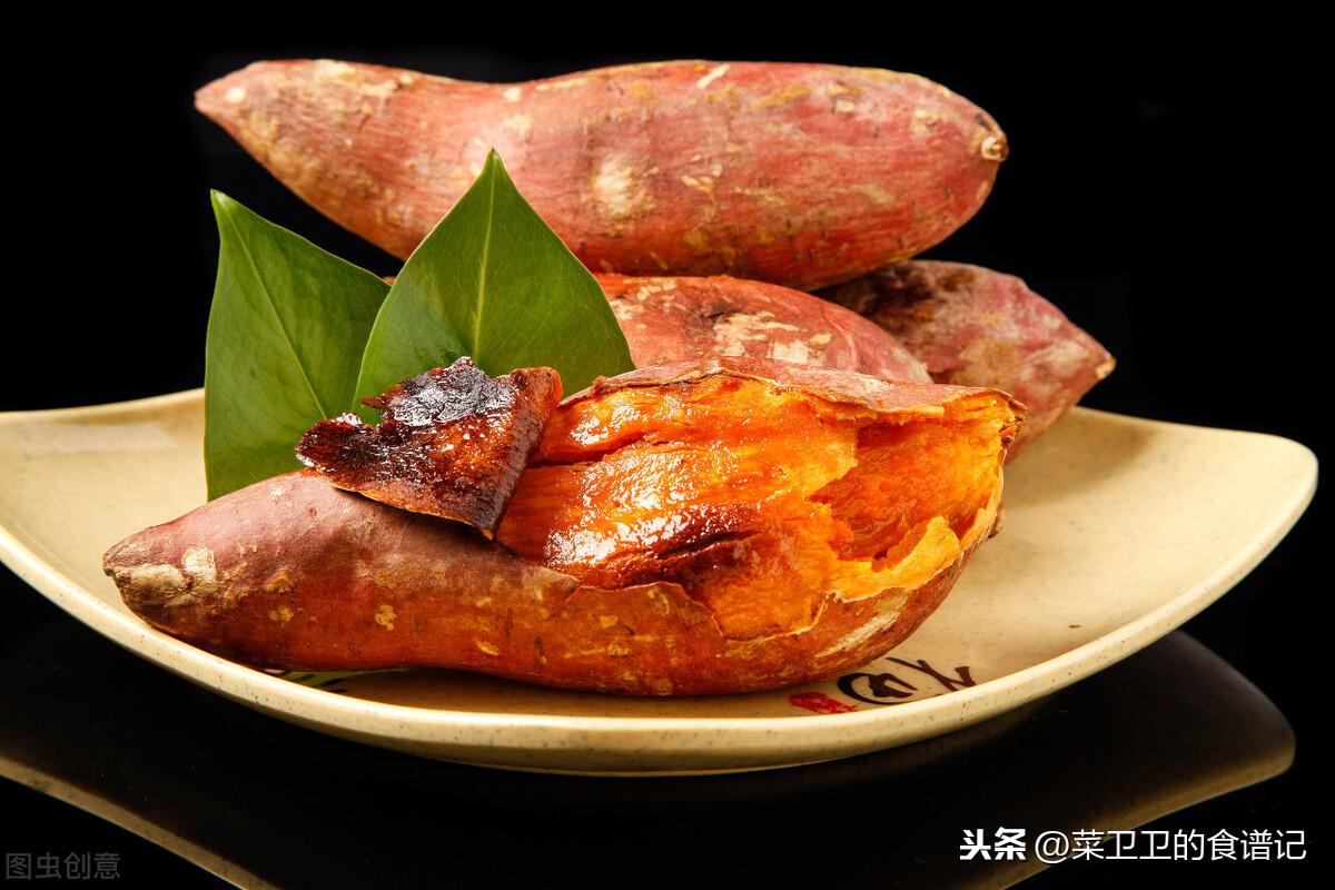 烤紅薯新做法,不用烤箱,也不用微波爐,只需要它,軟糯香甜好吃